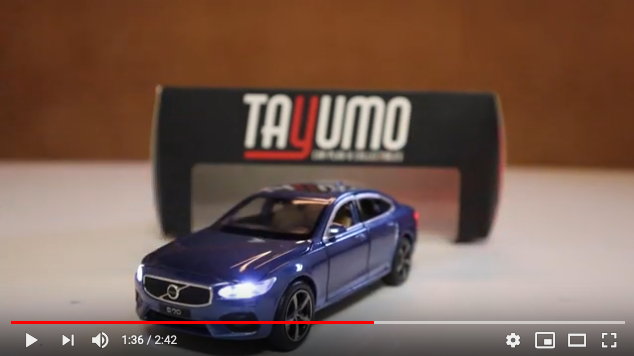Unboxing Volvo S90 scale 1:32